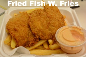 Fried Fish w. Fries